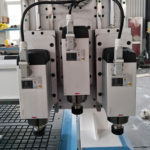 3 spindles cnc router machine