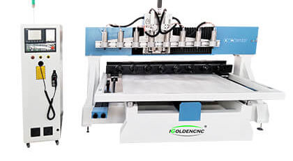 4 Axis 3D CNC Router