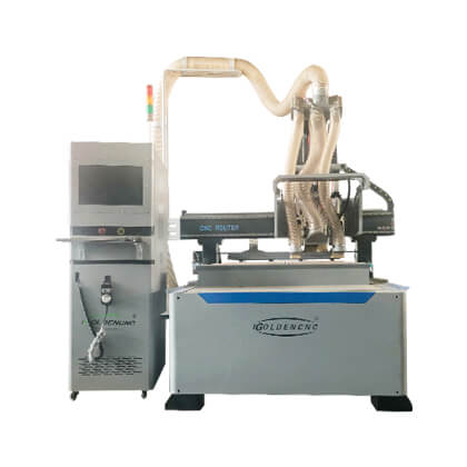 Double Spindles CNC Machining Center
