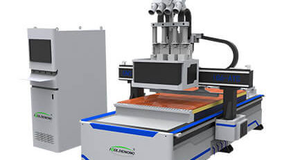 Four Process Nested CNC Router