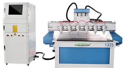 6 Spindles 3D CNC Woodworking Machines