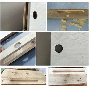 Wooden Door Lock Hole Machine