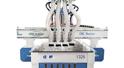 4 Spindle CNC Router Machine