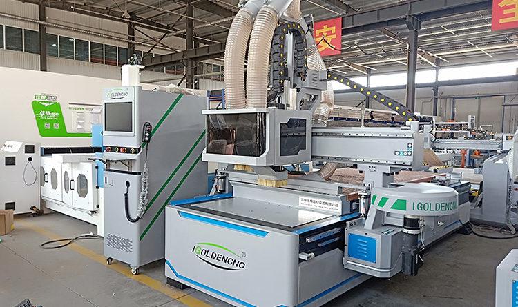 CNC Nesting Machine with Drilling