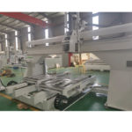 5 axis cnc machining center double worktable