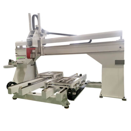 5 Axis Moving Table Cnc Router