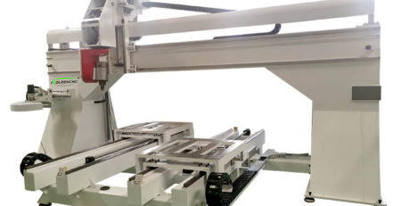 Work table Moving 5 Axis CNC Router