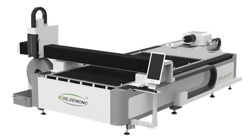 Fiber Laser Cutting Machine with Rotary