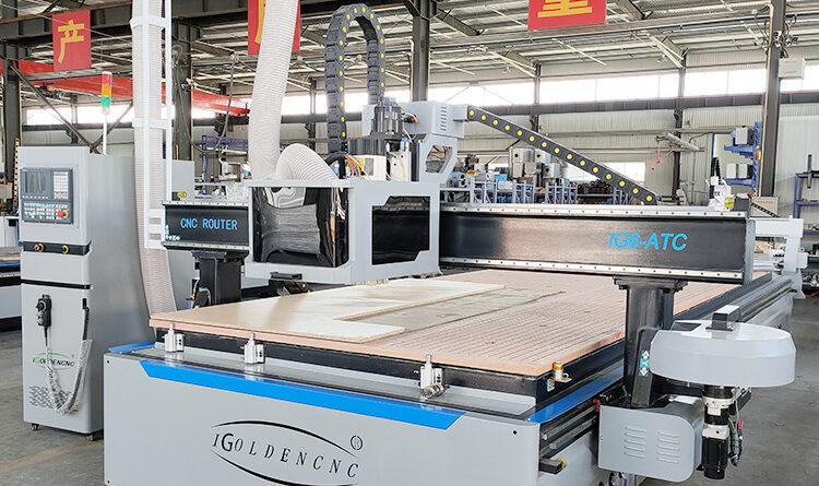 Automatic Cabinet Making CNC Machine