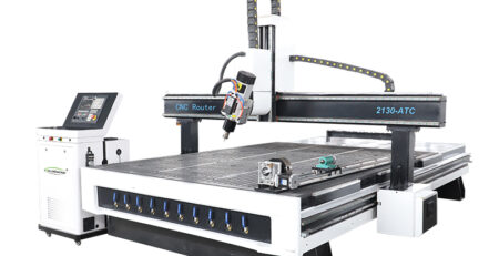 Rotary Spindle 4 Axis CNC Wood Engraving Machine