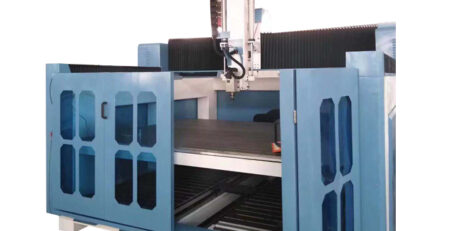 Double Layer 4 Axis CNC Machine